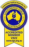locksmith guild of australia logo